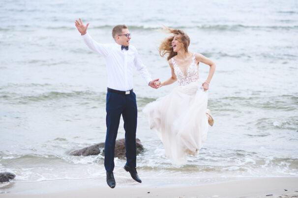 Teledysk ślubny z nad morza
